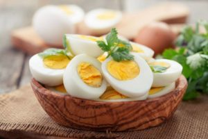 boiled eggs for weight loss