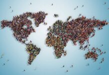 How many people are in the world