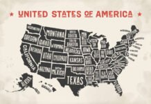 how many states in usa