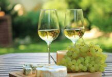 How many calories in a glass of white wine